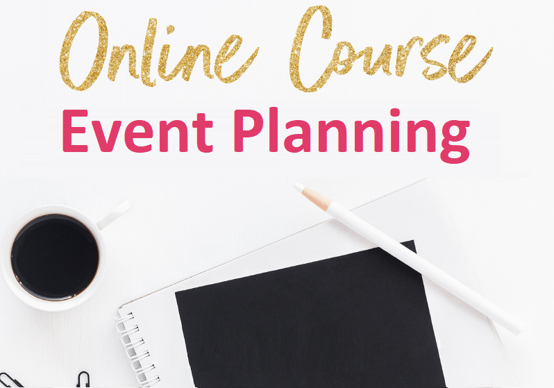 Event planning certificate course